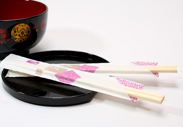 箸袋入り割り箸(hanakomai_2.jpg詳細)